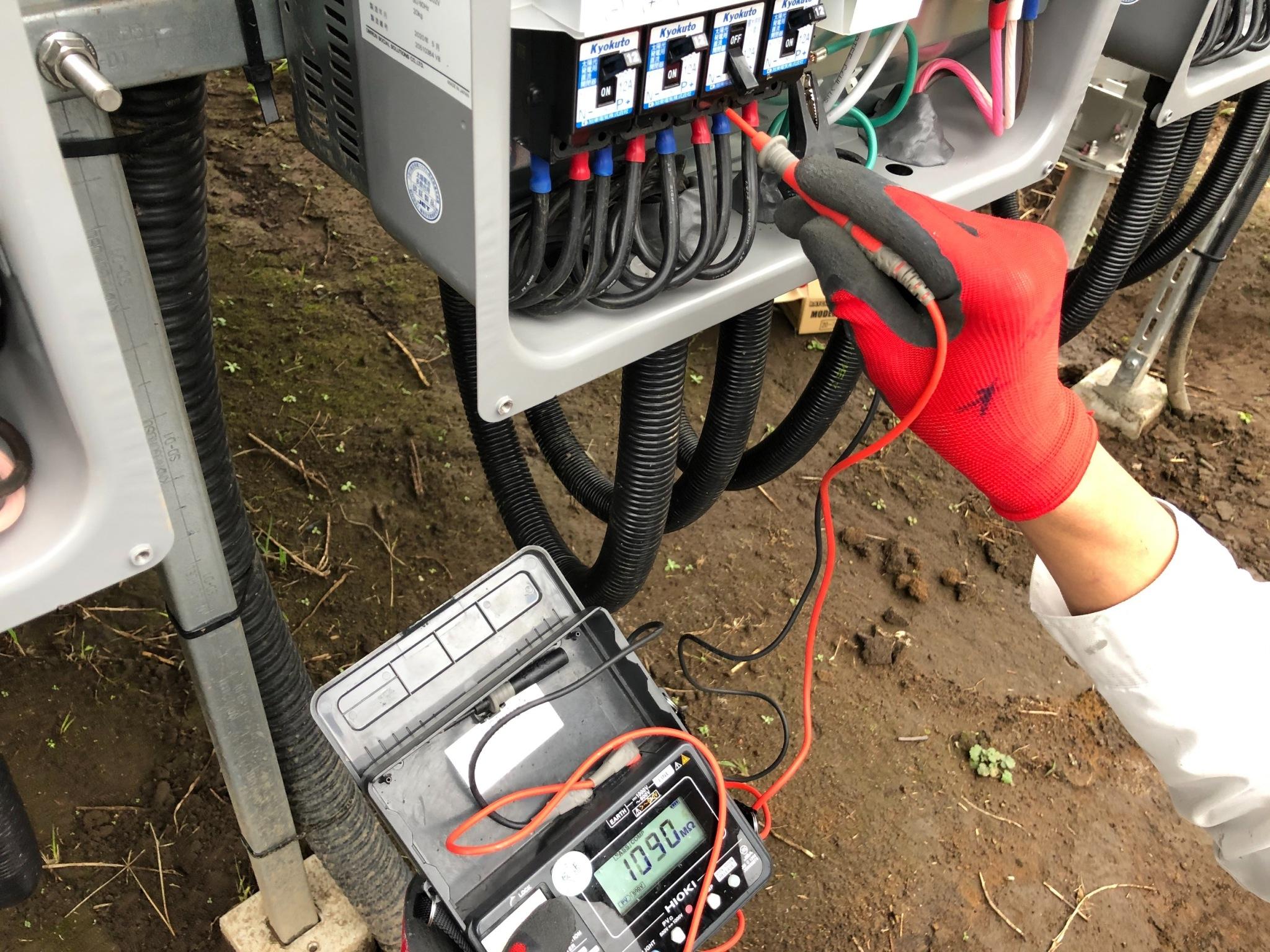 宮崎県の太陽光の電気保安保守管理